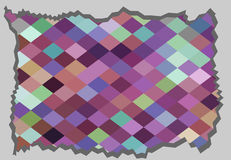 Abstract retro texture, cutting Royalty Free Stock Images