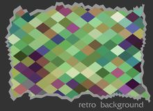 Abstract retro texture, cutting Stock Images
