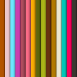 Abstract Retro Vertical Lines. Colorful Background Stock Photo