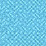 Abstract Retro Vintage Ancient Blue Rectangle Mesh Cell Seamless Pattern. Ancient Abstract  Blue Rectangle Geometric Mesh Pattern Fabric Vector Template Royalty Free Stock Image