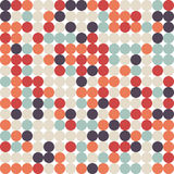 Abstract retro vintage seamless pattern background Stock Images