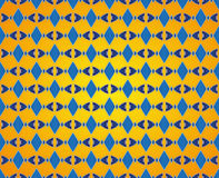 Abstract rhombic pattern Stock Image