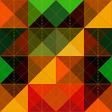 Abstract rhombus Royalty Free Stock Image