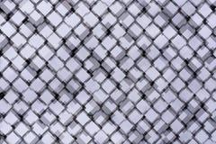 Abstract rhombus background gray Stock Photo