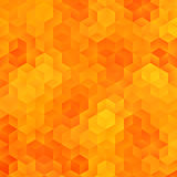 Abstract Rhombus Background. Abstract Orange Rhombus Autumn Background Stock Photography
