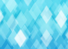 Abstract rhombus blue background Stock Image