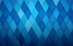 Abstract rhombus blue background. Vector Illustration Royalty Free Stock Photos