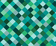 Abstract rhombus mosaic background design. Royalty Free Stock Photography