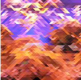 Abstract rhombuses  background Royalty Free Stock Photo
