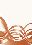 Abstract ribbon blank Stock Photography