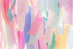 Abstract ribbon charms stock illustration