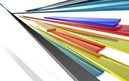 Abstract ribbons Stock Photos