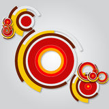 Abstract Ring Vector Background Royalty Free Stock Image