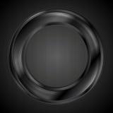 Abstract ring vector logo. Abstract black ring vector logo Stock Illustration