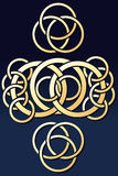 Abstract Rings Ornament. Vector illustration of Abstract Rings Ornament Royalty Free Stock Photography