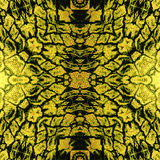 Abstract rippling structure with stylized reptile skin Royalty Free Stock Photography