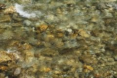 Abstract river water surface for banner background
