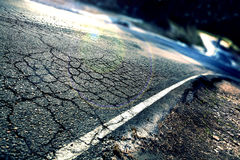 Abstract road background Stock Image