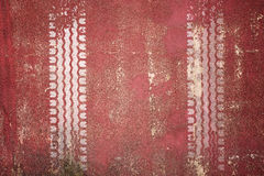 Abstract road background with tyre track Royalty Free Stock Image