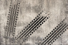 Abstract road background with tyre track Royalty Free Stock Images
