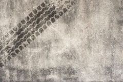 Abstract road background with tyre track.  Stock Photos