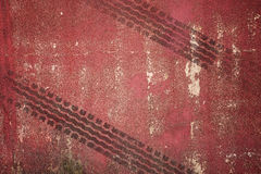 Abstract road background with tyre track Stock Photos
