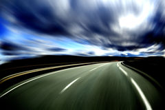 Abstract road. Royalty Free Stock Image