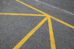 Abstract road marking background texture Stock Images