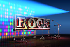Abstract rock background Royalty Free Stock Images