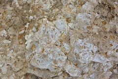 An abstract rock texture from the cliff faces at Port Noarlunga. South Australia on 23rd August 2018 royalty free stock image