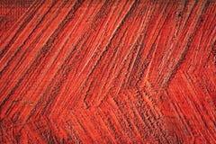 Abstract rode kleurenhout als achtergrond Stock Foto's