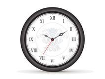 Abstract roman clock template Stock Photo