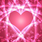 Abstract romantic background Stock Photography