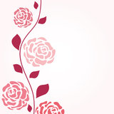 Abstract  romantic  background with floral Royalty Free Stock Photos