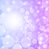 Abstract romantic  bokeh background. Royalty Free Stock Photography