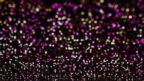 Abstract romantic colorful bokeh circles for Christmas backgroun stock images