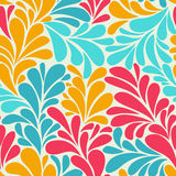 Abstract romantic seamless pattern wallpaper. Abstract romantic seamless wallpaper with curls Stock Photos
