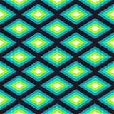 Abstract Romb seamless geometric pattern Royalty Free Stock Photography