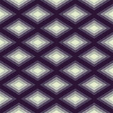 Abstract Romb seamless geometric pattern Stock Image