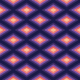Abstract Romb seamless geometric pattern Stock Photography