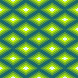 Abstract Romb seamless geometric pattern Stock Images