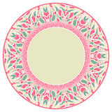 Abstract rond frame vector illustratie