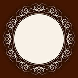 Abstract rond frame Royalty-vrije Stock Foto