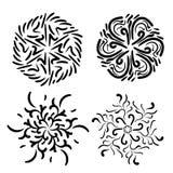 Abstract rond ontwerp royalty-vrije illustratie