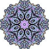 Lilac rond patroon Royalty-vrije Stock Afbeeldingen