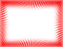 Abstract rood frame Stock Illustratie