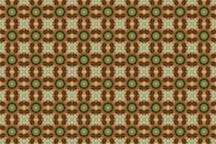Abstract rood groen grafisch patroon Stock Afbeeldingen
