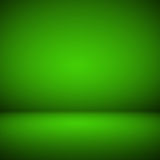 Abstract room interior green background Stock Photography