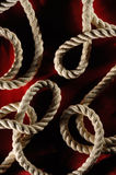 Abstract Ropes Royalty Free Stock Photos