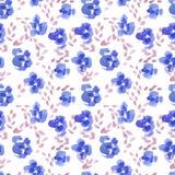 Abstract rose flower pattern. Watercolor seamless background. Abstract rose flower pattern. Hand drawn backdrop illustration stock illustration